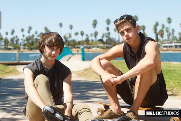 jeune skateur gay
